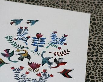 Bright Swans - Original Painting