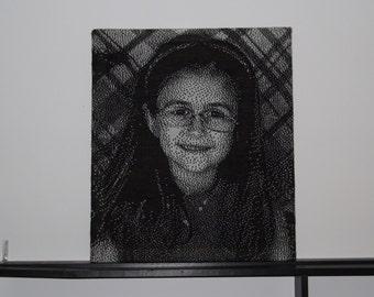 Custom Knit Portrait