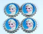 Set of 4 Frozen Sealed Bottle Caps