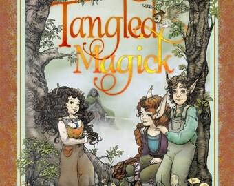 Tangled Magick, a middle grade fantasy book