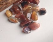 Jewelry Making Supplies, Carnelian Nuggets, Orange and Red Nuggets, Chunky Carnelian Nuggets, Destashed Beads, Smooth, Etsy, Etsy Supplies