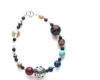 Zodiac Aries Gemstone Bracelet