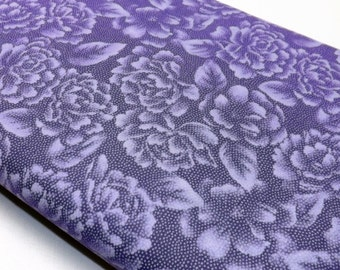 Robert Kaufman Fusions EUJ 7520 23 Lavender Quilting Basic Print Quilting and Sewing Fabrics