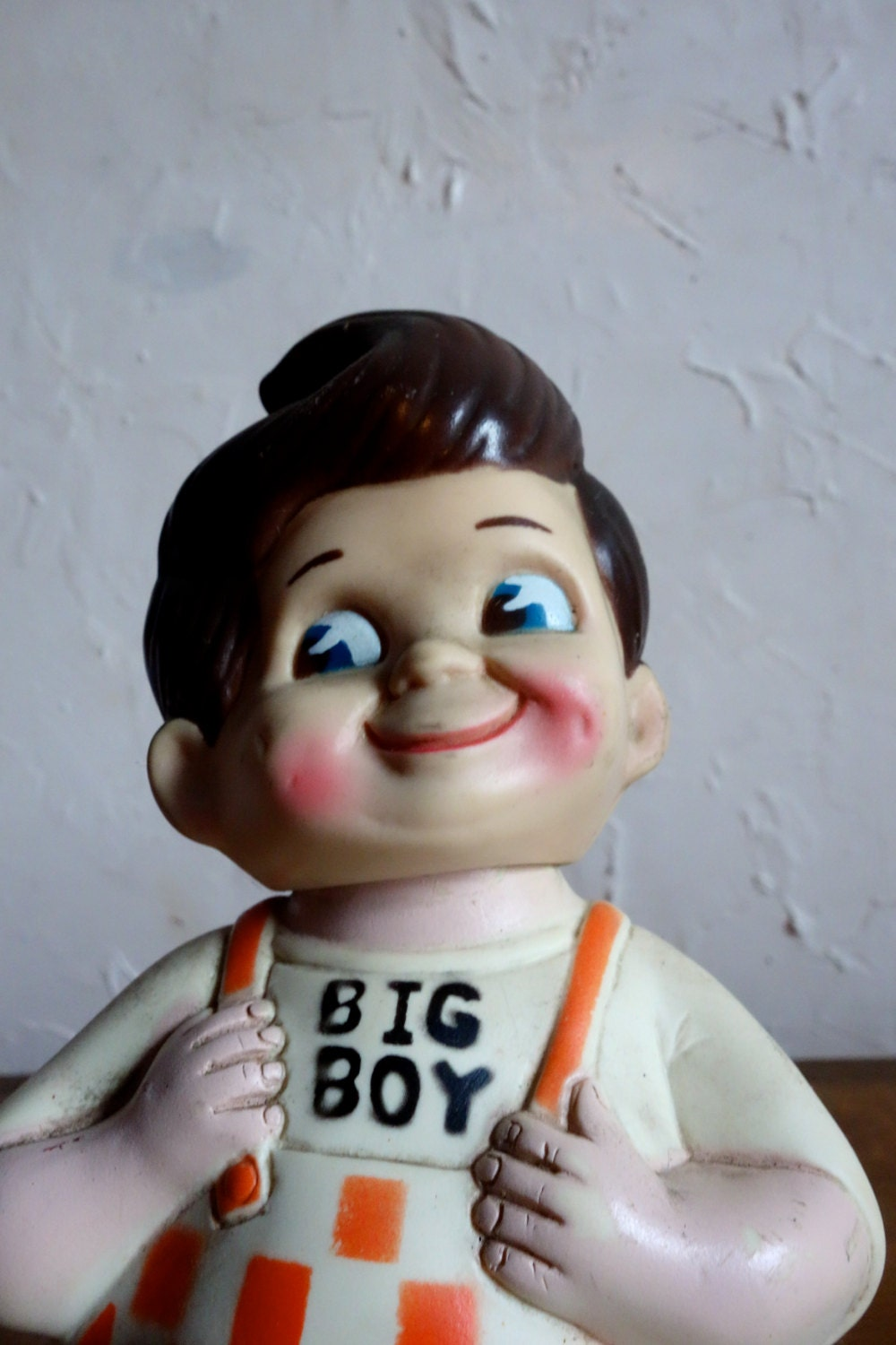 1973 bob 39 s big boy vintage 70s advertising doll vinyl for Big bob s carpet