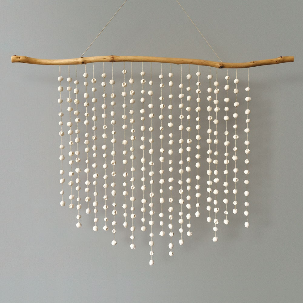 Statement Gumnut Wall Hanging A Large White Cast Plaster Wall