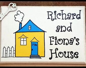 New home Plaque