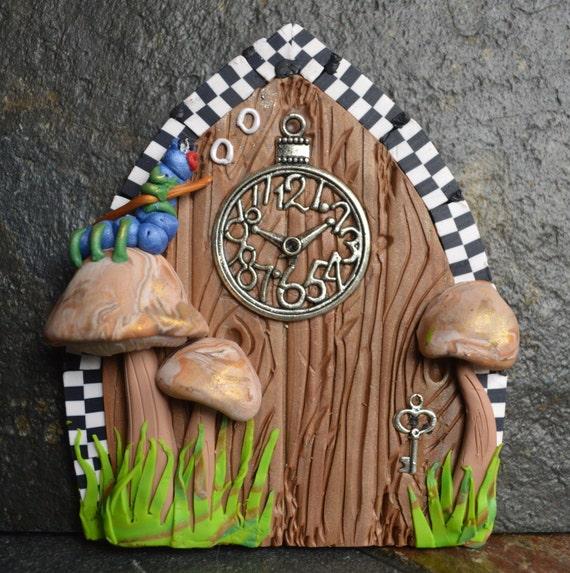 Alice In Wonderland Miniature Fairy Door Fairy Garden Fairy
