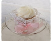Birthday Lace Cupcake Wrapper for Birthday Party Birthday Decoration Princess Tea Party