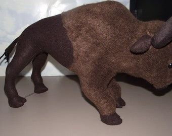 Buffalo Bison BROWN Toy Buffalo Bison to Play With