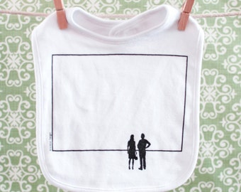 Sale BLANK CANVAS BIB a canvas for baby's mealtime masterpieces