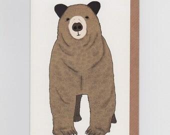 Toby, Brown Bear | Greetings Card