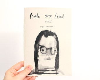 Art Zine colouring book - People Once Loved - Issue 2
