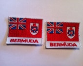 Bermuda  sew on anything 2 1/2 inches by 2 inches