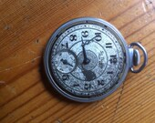 Vintage pocket watch reuse steampunk projects not working  St. Reals no glass