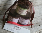 Gift Set - Your choice of mini Scrub, Body Mousse and Whipped Cream Soap