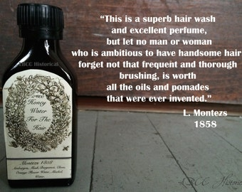 Limited Edition: Honey Water For The Hair 1858 1825  Hair Rinse and Hair Perfume