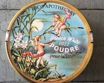French White Face Powder 1922