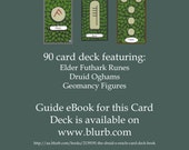The Druids Oracle Card Deck (MPC) - Boxed decks now available (new orders only)