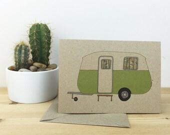 caravan card (100% recycled)