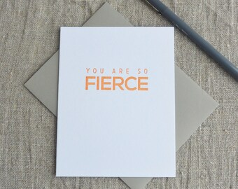 Letterpress Greeting Card - You Are So Creative - 112-004