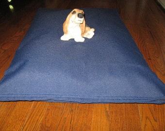0562 NAVY BLUE  --  Extra Strong and Durable dog bed cover.  Hand Made in USA by toughdogbed
