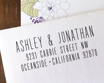 CUSTOM ADDRESS STAMP with proof from usa, Eco Friendly Self-Inking stamp,  address stamp, stamper, custom stamp, custom address stamp 156