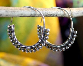 Bindu Hoop Earrings