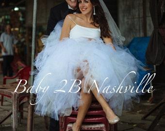 Wedding Tulle Skirt Bridal Tulle Skirt Ivory / White Tulle Skirt Destination Wedding Tutu Ivory Tulle Skirt Ivory Tutu Skirt Bridal Separte