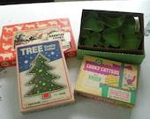 Vintage (Antique) Metal Cookie Cutters - Mix Lot