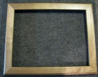 11x14 Quartersawn Curly Rock Maple Picture Frame BB