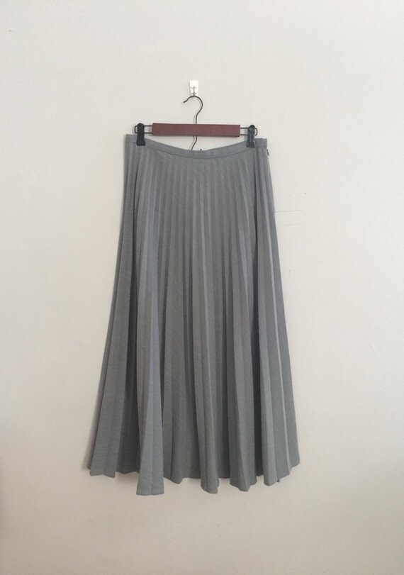 grey accordion pleat skirt grey pleated skirt by