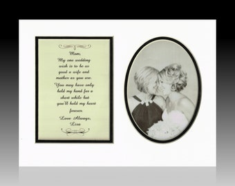 Personalized Custom Mother Mom of the Bride Wedding Gift Thank you