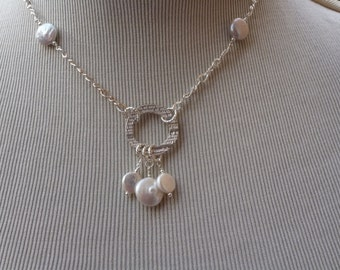 MacDesigns - PMC Circle Pearl Necklace