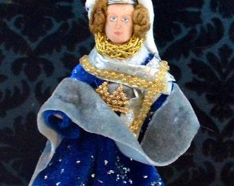 Joan of Kent Plantagenet Doll Miniature Women of History Art Character