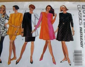 Butterick 5785 dress, tunic, skirt, and leggings  sewing pattern