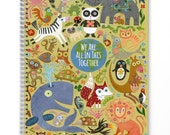 Ecojot Sketchbook Cover Winner - We Are All In This Together