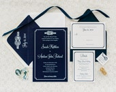 Tie the Knot Wedding Invitation Deposit