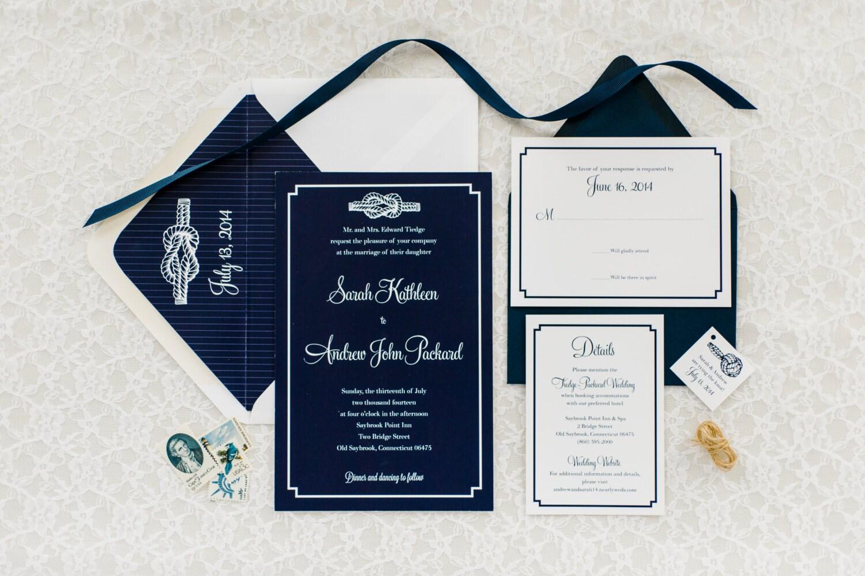 The Knot Addressing Wedding Invitations: Tie The Knot Wedding Invitation Deposit By AmandaDayRose
