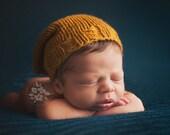 Slouch Hat - Newborn Photo Prop - photo prop, baby beanie, boys hat