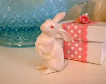 Lefton Rabbit Extra Tiny Sweet Old Bunny