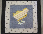 CHICK Mini Selvage Quilt Collection from Quilts by Elena Wall Hanging Table Topper Selvages