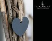 Metal Chalkboard Heart Ornament