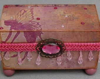 Magical Fairy Keepsake Decorative Trinket Jewelry Box
