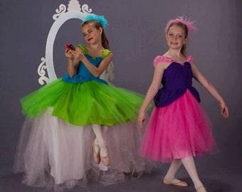 ANASTASIA  or Drizella Step Sister dress  Cindrellas wicked  stepsisters Halloween girls costume flower girl Cinderella