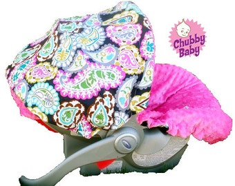 Infant Car Seat Cover, Baby Car Seat Cover Paisley