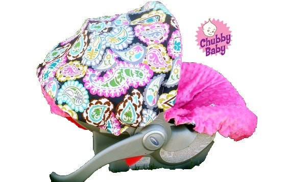 infant car seat cover baby car seat cover paisley. Black Bedroom Furniture Sets. Home Design Ideas