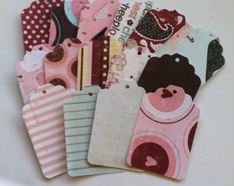 Love Nest Tags - Set of 15
