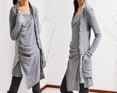 Long long braids - vagabond cotton tunic dress set (Q1501)