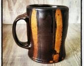 Noir rayé Mug