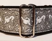 Jane Walker's Art Nouveau Gray/White Martingale Collar-